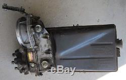 1982 BMW 323i E21 Bosch Air Flow Meter Fuel Distributor & Purolator Air Box Orig