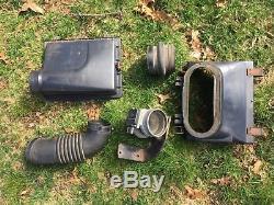 1988 1989 Ford Mustang GT 5.0 Air Box Hoses Air Flow Meter Mounts Complete OEM