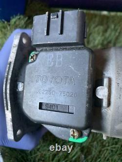 1998 1999 Toyota Tacoma Mass Air Flow Sensor Air Flow Meter MAF 2225075020 OEM