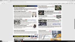 2000-2003 BMW E39 M5 Dinan High Flow Air Mass breathe Meter Aluminum Housing