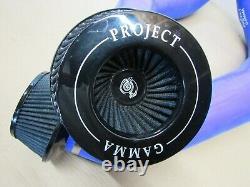 2012-2018 Bmw F10 M5 F06 F12 F13 M6 S63 Project Gamma Cold Air Intake Set Blue