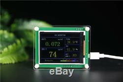 2020 PM1.0 PM2.5 PM10 Formaldehyde HCHO Air Monitor Temperture Humidity Meter