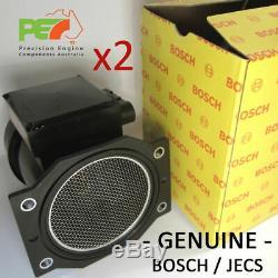2x NEW BOSCH / JECS Z32 80mm Air Flow Meter AFM GTR RB26DETT R32-R34