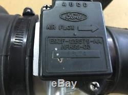 87-93 Ford Mustang Mass Air Flow Sensor MAF Meter Intake Air Tube A9L A9P OE