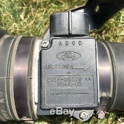 87-93 Ford Mustang Mass Air Flow Sensor MAF Meter Intake Air Tube A9L A9P OEM