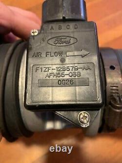 87-93 Ford Mustang Mass Air Flow Sensor MAF Meter Intake Air Tube OEM 5.0 HO V8