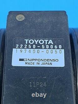 93-98 Toyota Supra Lexus LS400 SC400 SC300 Mass Air Flow Sensor 22250-50060