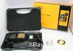 AR856A Air Flow Wind Speed Anemometer+IR Thermometer