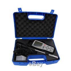 AR866A 0.0-30M/S Hot Wire Thermo-Anemometer Air Flow Velocity Wind Speed Meter