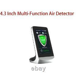 Air Analyzer Air Quality Detector Monitor CO2 4.3'' APP WIFI Wireless Detector