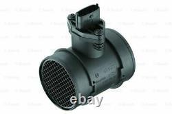 Air Mass Sensor fits VAUXHALL ASTRA G 2.0 00 to 05 Z20LET Flow Meter Bosch