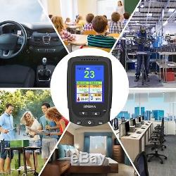 Air Quality Monitor Accurate Testing PM2.5 Detector HCHO Temp TVOC HUM Tester