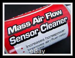 Air flow meter MAF sensor cleaner Fiat Punto Tipo Panda Coupe 500 Ducato Doblo