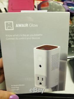 Awair Glow Know What's in the Air You Breathe Air Quality Monitor