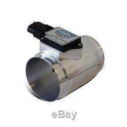 BBK 80055 76mm MAF Mass Air Flow Meter For 86-93 Mustang with30LB Injector