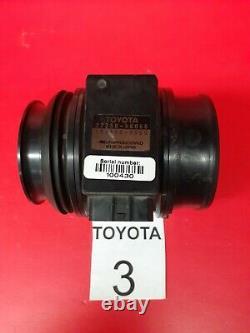 BIN 3 93-98 Toyota Supra Lexus LS400 Mass Air Flow Sensor 22250-50060 OEM