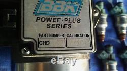 Bbk 1986-93 Mustang Gt/lx 5.0l 76mm Mass Air Flow Meter Maf With 24lb Injectors
