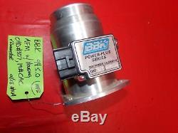Bbk Performance 80105 76mm Mass Air Flow Meter Sensor 19lb Cold Air Calibrated