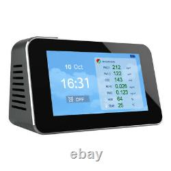 CO2 Carbon Dioxide NDIR Air Quality Monitor Temperature Detector Date Indoor Use