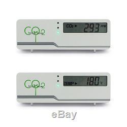 CO2 Monitor Prüfer Messgerät Aircontrol Raumklima Überwachung Luftüberwachung