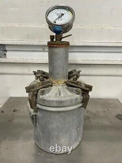 CONCRETE SPECIALTIES PRESS-UR-METER BRASS Concrete Tester Air Test Pressure