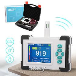 Carbon Dioxide Detector Co2 ppm Meter Air Quality Monitor Gas Analyzer with Alarm