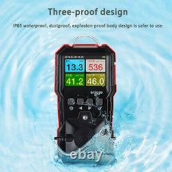 Carbon Monoxide Meters CO O2 H2S Combustible Gas Detector Air Quality Analyzer