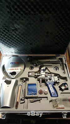 Castolin Castodyn System 2000 Metallspritzpistole Spraying Gun + Airflowmeter