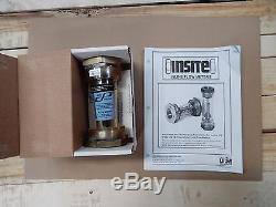 Cole Parmer 32211-24 Inline Air, Water, N2, Flowmeter 50 Gpm 1 Npt(f) New