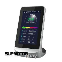 DM72B Air Quality Monitor Analyzer CO2 PM2.5 Formaldehyde Detector TVOC Meter