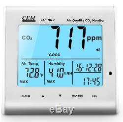 DT-802 CO2, Desktop Indoor Air Quality Monitor