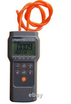 Differential Air Pressure Manometer ±15.000 psi Digital Gauge Tester HVAC Meter