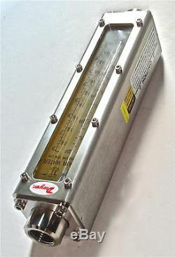 Dwyer Flowmeter If2705 8.5 Cfm 250 Lpm Air 2.1 Gpm/ 8 Lpm Water 304ss Nib