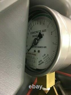 Eberhard Concrete Air Meter Tester Type B Model #AR-B New in Case