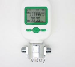 English Version Digital display flow meter 0-25L/min air oxygen mass flowmeters