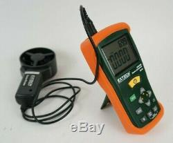 Extech Instruments CFM/CMM Thermo-Anemometer Air Velocity Flow Wind Speed Meter