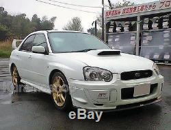 Fit Subaru Impreza WRX STi GDB AFM Air Flow Meter Adaptor + Cold Intake Combo