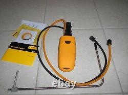 Fluke 922 Air Flow Meter Micromanometer Kit Hvac Meter
