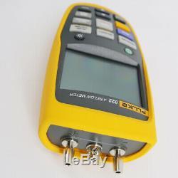 Fluke 922 HVAC Pressure Airflow Meter Micromanometer Tester Air Velocity Tester