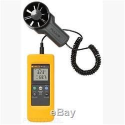 Fluke 925 impeller Anemometer Meter Wind Speed Air Flow Velocity Temperature UK