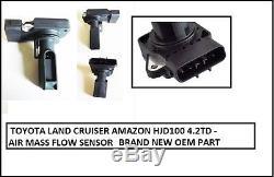 For Toyota Land Cruiser Amazon HDJ100 4.2TD 4X4 MAF Air Flow Meter 08/2001+