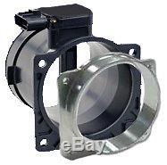 Ford 90mm Replacement Mass Air Flow Meter & Filter Adaptor Ring Cnc Billet New