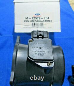 Ford Lightening SVT 90MM Mass Air Flow Meter MAF & wire harness V8 4.6 5.0 80mm