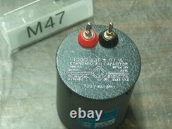 GENERAL RADIO 1401-D STANDARD AIR CAPACITOR 1nF 1µµF # M47