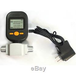 Gas Mass Flow Meter MF5712 Of Compressed Air Flow Meter With Alarm Function