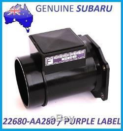 Genuine Subaru Air Flow Meter Afm Maf Sensor Wrx Impreza Sti Ej20 22680-aa280