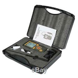 HT-9830 Digital Anemometer Wind Speed Meter Air Flow Volume LCD Gauge Tester
