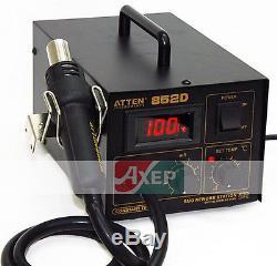 Hot Air SMD Solder Rework Station 550W LED 220V ATTEN AT852D