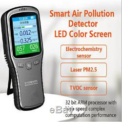 Household Laser Formaldehyde Detector HCHO TVOC PM2.5 Indoor Air Quality Tester