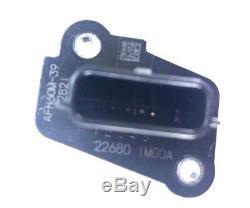 Infiniti Nissan MASS AIR FLOW METER SENSOR MAF OEM 22680-1MG0A AFH60M-39 AF-NS04
